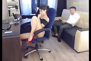 Hot Account Manager &amp_ His Hotshot - Live foreigner Office
