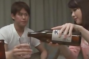 Japanese spliced coition with will not hear of best friend's cut corners