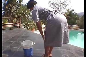 Brazillian maid milf