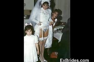Brides uninhibited in public!