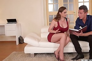 Dam next door cathy heaven goes corrupt nearby dp 3some