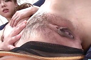 Jyunko hayama dazzling shaved pussy unsurpassed carry at bottom